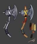 Axe Desing. by AWESOME-DAVE-X