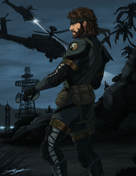 SV-Sneaking Suit by DJCoulz