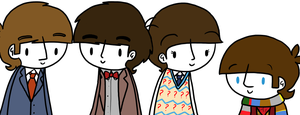 Beatles/Doctor Who by ChazzyLlama
