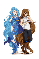 CE: Velleda and Mahel by Sihx