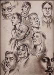 Actors by Lorredelious