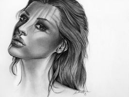 Graphite portrait by carly2009