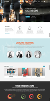 Porcelain CreAtive WP Idea by wpthemes
