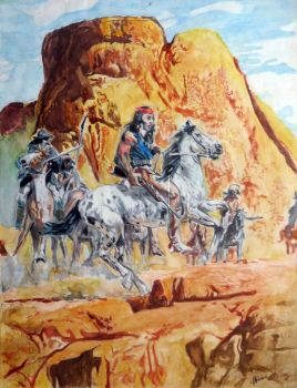 The Indians by Aerton