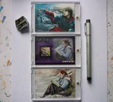 HP sketch collection with prop by DavidDeb