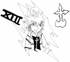 Roxas ink by bluecrysto