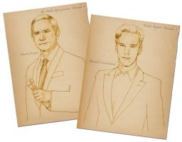 Benedict and Martin 2 by 403shiomi