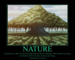 Nature Motivational Poster by fifthknown
