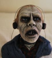 OOAK bust Bub day of the dead by laeti-k