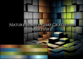 Nature Beauty Gimp Gradients by MiekeVeke