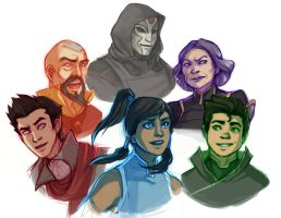 LoK Colors by elontirien