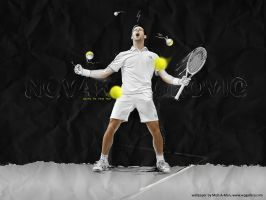 Novak Djokovic by Mish-A-Man