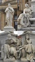 Statue Pack I. by MelanieMaterne