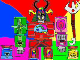 Power Rangers: Win, Lose, and Kaboom 6 by conlimic000