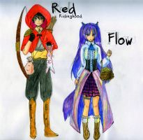 OC: Red Ridinghood and Flow by keiZap