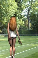 Tennis Girl by N8Dreams