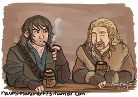 A Smoke and Some Mead by naomi-makes-art73