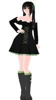 - MMD NC - Miruna by NoUsernameIncluded