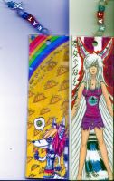 awesome bookmark by DeathcrowInk