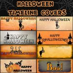 Facebook  Halloween Timeline Covers by ibjennyjenny