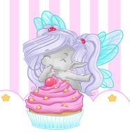Cupcake Fairy Blips by Cilitra