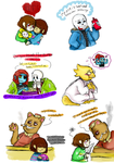 More Undertale by Honey-Bea