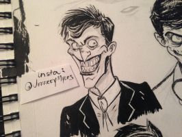 Joker Sketch! by JeffMyles
