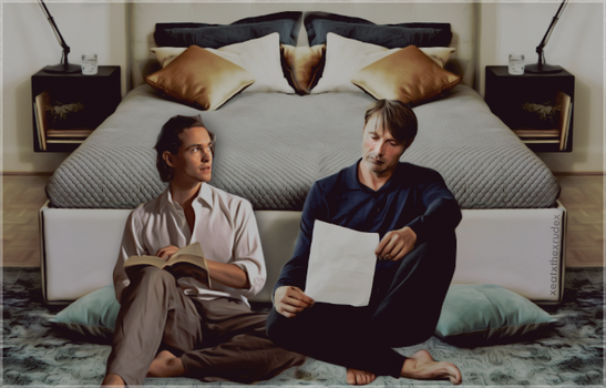 Hannigram: One Lazy Afternoon by evansblack