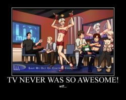 TV never was so awesome by purpLesBLACK