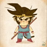 Son Goku by dionbello