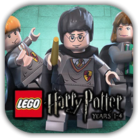 Lego Harry Poter 1-4 Game Icon by Wolfangraul