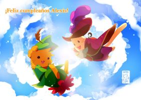 Feliz no cumpleanos 1313 Alex by Go-n-g