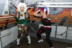 Aisha Clan Clan and Gene Starwind by GinaBCosplay