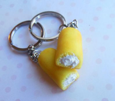 polymer clay twinkies by ScrumptiousDoodle