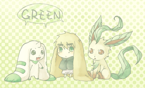 GREEN by eevee-moon