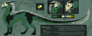 Alcaeus Reference Sheet by mirzers