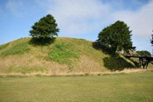 DSC 0142 Old Sarum Hill Fort 4 by wintersmagicstock