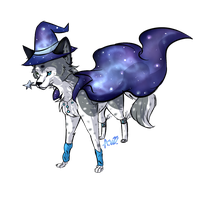 Silverfrost the space wizard by MidnightsBloom