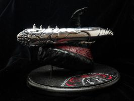 Blood Wyrm Lightsaber by DragonScribble