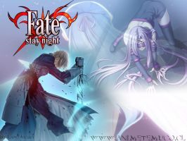 Fate-Stay Night Wallpaper by Balaniel