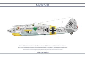 Fw190A4 JG54 3 by WS-Clave