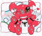 + hi im guilmon + by ToxiicClaws
