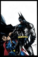 Superman vs Batman by richy-richy