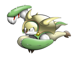 PkmW #17: Chesnaught by LandonBridge