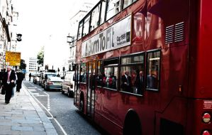 London Traffic by Dj-Hayabusa