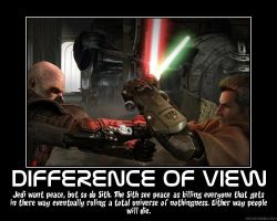 Difference of View by Starkiller955