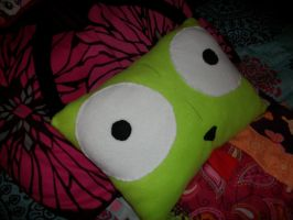 Giant gir pillow by Eimiyuki