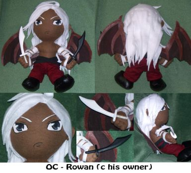 Commission: Rowan -OC- by Necronomical
