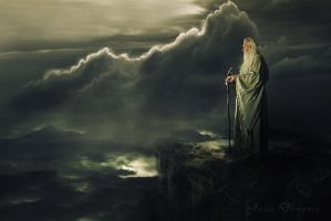 Moses The Last Solitary by JDewantiArt
