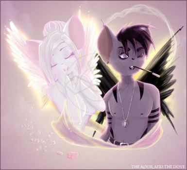 The Rook and the Dove by coffinberry